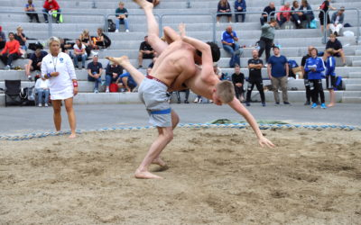 21 stolte norgesmestere i sandbryting
